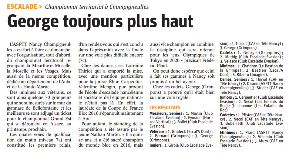 Article champigneulles